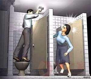 公共厕所偷拍是违法吗?