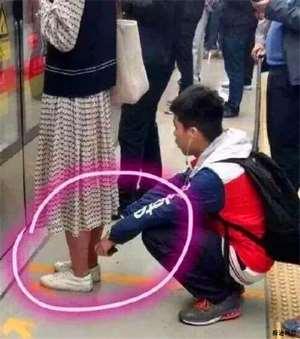 乘地铁时如何预防偷拍