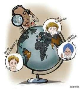 美国监听全球几十亿人的手机