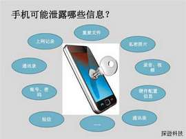 怎样防范手机信息泄密1